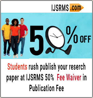 IJSRMS 50 Percent Fee Waiver for Students