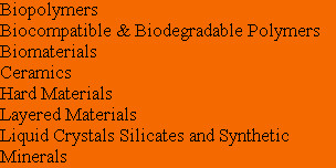 Biopolymers Biocompatible & Biodegradable Polymers Biomaterials Ceramics Hard Materials Layered M...