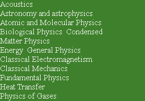 Acoustics  Astronomy and astrophysics  Atomic and Molecular Physics  Biological Physics  Condense...