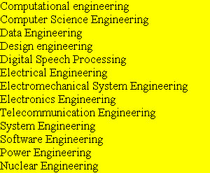 Computational engineering Computer Science Engineering Data Engineering Design engineering Digita...
